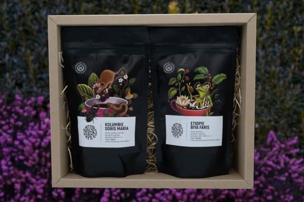 Degustační balíček Kolumbie - Etiopie